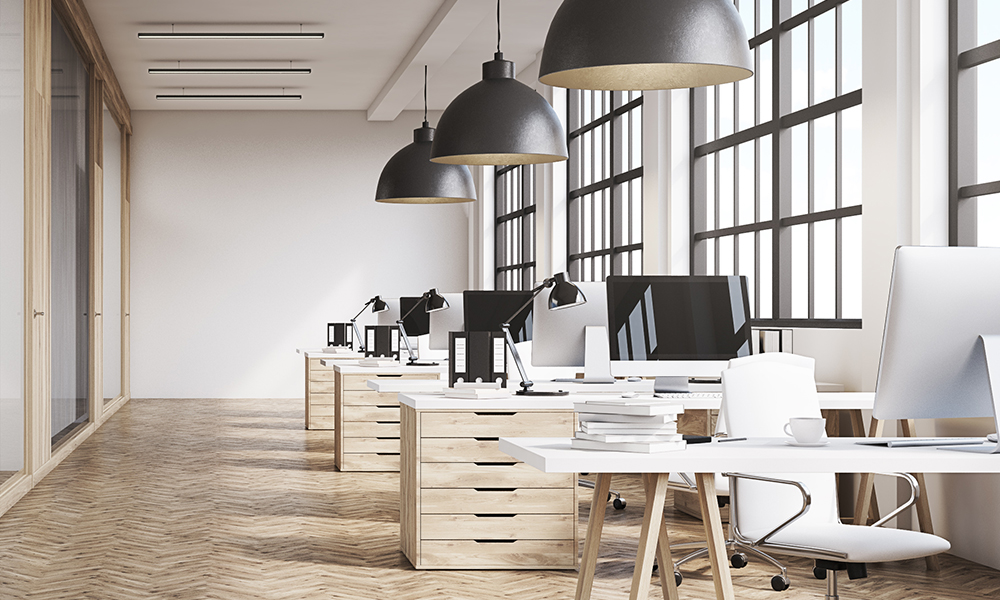 Clean Commercial Office Space